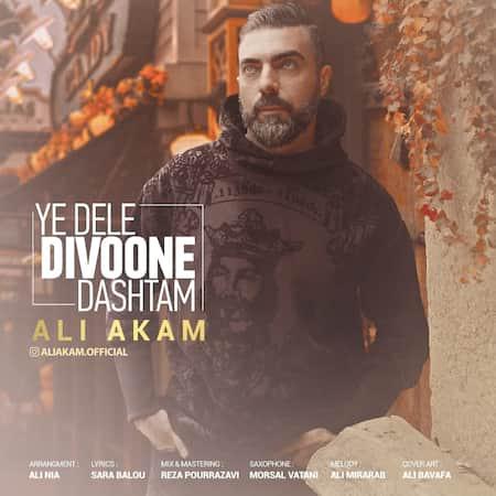 دانلود آهنگ علی آکام یه دل دیوونه داشتم Ali Akam Ye Dele Divoone Dashtam